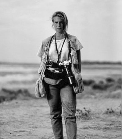 On assignment in Zimbabwe, 1989.